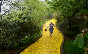 Map Of Oz Internet Beckons Crime To Land Of Oz Goodbye Yellow Brick Road