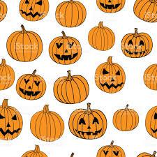 halloween vectors halloween vector print seamless pattern with jackolantern pumpkin