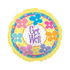 get well soon and balloons get well balloon delivery get well soon balloons bunches co uk