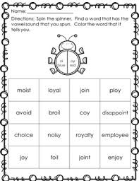 oi and oy activity pack diphthongs by courtney doyle tpt