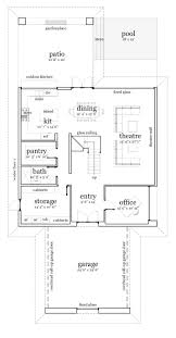 Narrow House Plans With Garage 12 Best Floor Plans Images On Pinterest Floor Plans Plan Plan