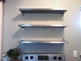 kitchen shelves design ideas stainless steel kitchen shelves designs ideas