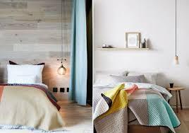 hanging light over table it s hip to hang bedside lighting design lovers blog