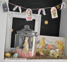 Easter Spring Decorating by Spring At The Cottage U2013 Decorating With Vintage Easter Bunnies