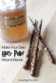 diy harry potter wand wizard wand tutorial