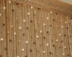 Curtains For Doors With Windows Crochet Door Curtain Etsy