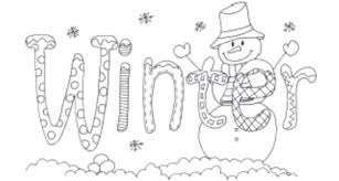 Winter Coloring Pages For Kids Free Images Coloring Winter Winter Coloring Pages Free Printable