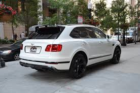 matte white bentley 2018 bentley bentayga black edition stock b959 s for sale near
