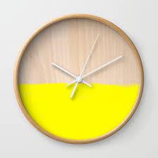 Wall Clocks Sorbet V Wall Clock By Galaxy Eyes Society6