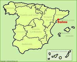 Espana Map Salou Location On The Spain Map