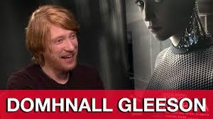 domhnall gleeson interview ex machina youtube