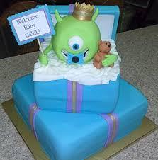 monsters inc baby shower cake specialty cakes islamorada unique d lites custom cakes