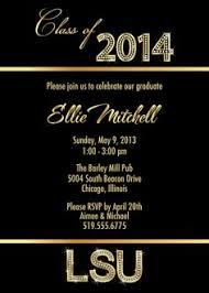 gold diamond graduation invitations for college or high