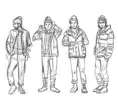 dan u0027s sketches mens clothing