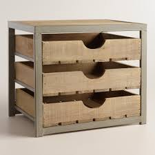 Oak Desk Organizer by Give Your Desktop Storage A Rustic Appeal With Our Apple Crate