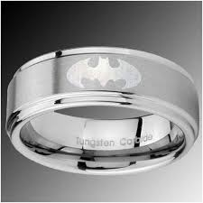 Star Wars Wedding Rings by Ygk Jewelry 8mm Black Dome Star Wars Mandalorian New Men U0027s