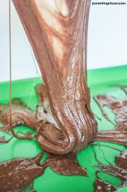 chocolate slime parenting chaos