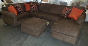 Broyhill Sectional Sofa by Sofa Lloyd Flanders Great Unique Sectional Sofa With Ottoman To