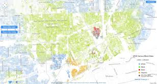 Chicago Demographics Map by The Racial Dot Map One Dot Per Person For The Entire U S