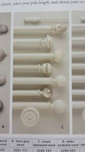 Cream Wooden Curtain Poles Best 25 Cream Curtain Poles Ideas On Pinterest Corner Window
