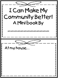 friendly letter template 2nd grade first grade wow me and my community an 8 page mini book for kids to make