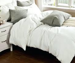 handmade duvet covers denim blue chambray linen duvet cover