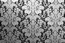 Black Damask Wallpaper Home Decor by Wallpaper Wall Designs Home Design Ideas