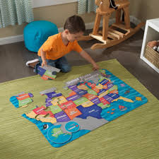 Map Puzzle Usa by Floor Puzzle U S A Map