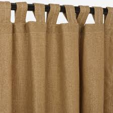 Sunbrella Curtains With Grommets by Linen Sesame Sunbrella Outdoor Curtains With Tabs