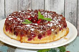 cranberry upside down cake diaries of a domestic goddess