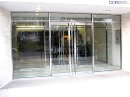 clear glass door commercial and industrial glass doors dori doors blog