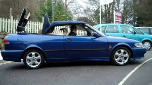 saab convertible black 1999 saab 9 3 se turbo automatic convertible for sale youtube
