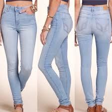 hollister light wash jeans hollister high rise skinny jeans nwt light wash jeans jeans