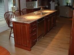 kitchen island with dishwasher and sink suncook carpentry