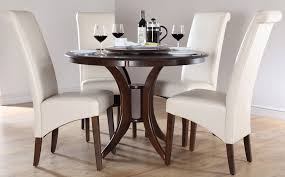 Round Kitchen Tables Chairs by Amazing Ideas Dark Wood Round Dining Table Stylist Design Antique