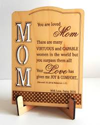 Gifts For Mom by Custom Appreciation Gift To Mom Mothers Day Gift Valentines