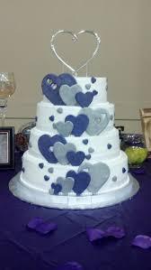 heart wedding cake best 25 silver heart wedding cakes ideas on wedding with