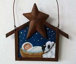 104 best painted nativity ornaments images on nativity