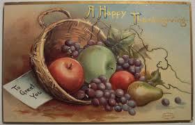 vintage thanksgiving postcards pairing wine u0026 food