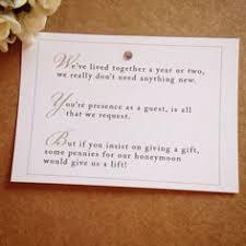 how to register for honeymoon money 5 x wedding poem cards for invitations money gift honeymoon