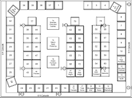 floor plan u003e make it your business trade show covering ajax