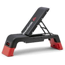 amazon com reebok professional deck workout bench black