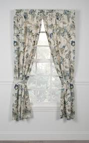 Jacobean Floral Curtains Brissac Curtain Collection Jacobean Floral Window Toppers