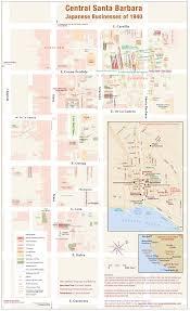 Santa Barbara Map Japantown Atlas Santa Barbara