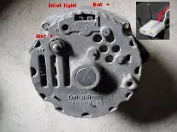idiot light for alt