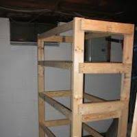 Free Standing Wood Shelves Plans by Storage Shelves Plans Free Dynaboo Co