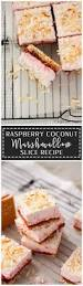 Homemade Coconut Cake by Raspberry Coconut Marshmallow Slice Recipe Sugar Salt Magic
