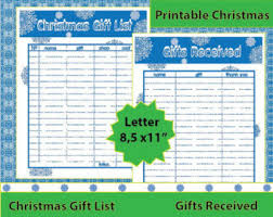 gift list etsy