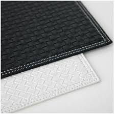 Table Place Mats Black And White Placemats Set Of Pcs Table Placemats Large