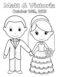 wedding coloring pages free coloring page